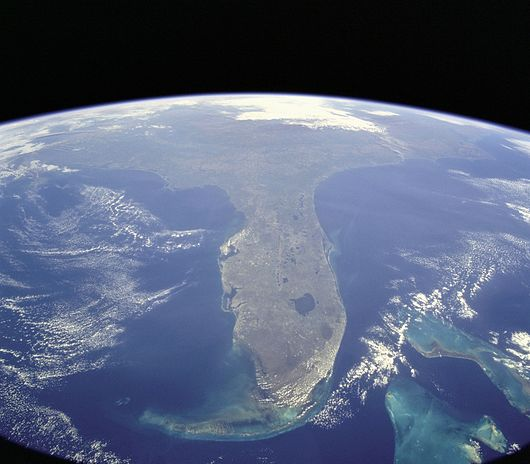 Datei:STS-95 Florida From Space.jpg