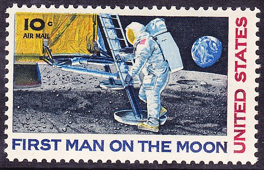 Datei:1969 moonlanding commemorative stamp 10c.jpg