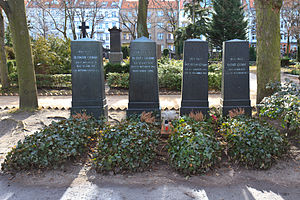 das grab der brder grimm in berlin - Gebruder Grimm Lebenslauf
