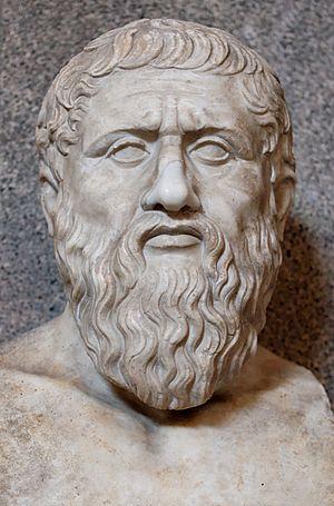 Büste von Platon