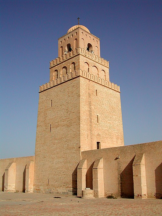 Datei:Tower of the Great Mosque of Kairouan.JPG